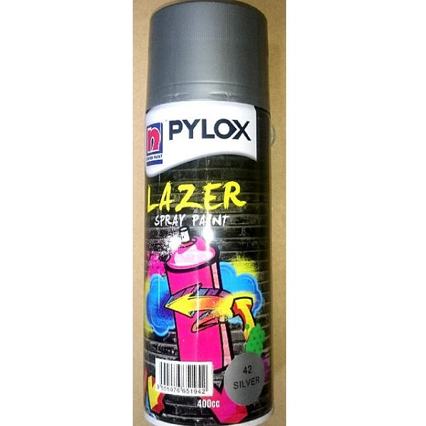 Nippon Pylox Spray Paint 42 Silver 400Cc