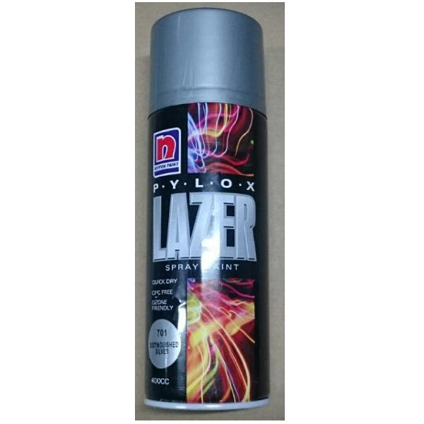 Nippon Pylox Spray Paint 701 Distinguished Silver 400Cc