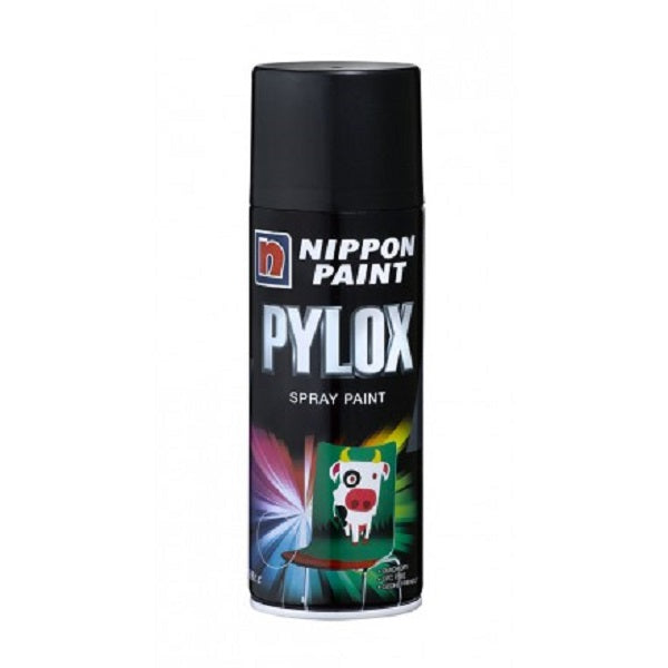 Nippon Pylox Spray Paint 708 Black 400Cc