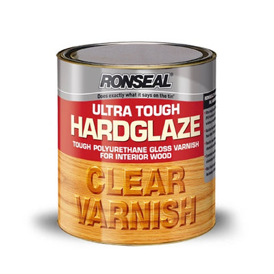 Photo of Ronseal Ultra Tough Varnish Clear Stain 250ml