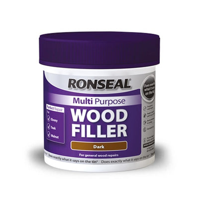 Photo of Ronseal Multi Purpose Wood Filler Light 250G