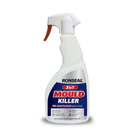 Ronseal 3In1 Mould Killer 500ml Spray