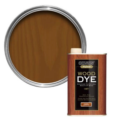 Photo of Colron Wood Dye (Georgian Medium Oak) 250ml