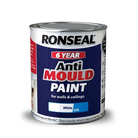 Ronseal Anti Mould Paint Matt White 750 ml