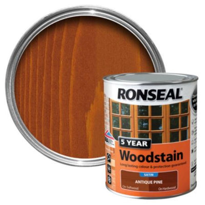 Photo of Ronseal 5Yr Woodstain Antique Pine 2.5L