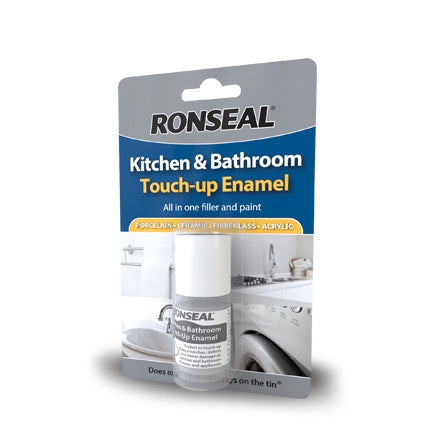 Ronseal Kitchen & Bathroom Touchup Enamel 10ml