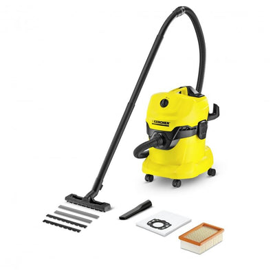 RENT - Karcher Wd4 Wet & Dry Vacuum Cleaner