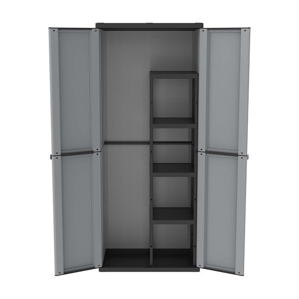 Terry Jline 368 2Door 4Shelves G/Blk