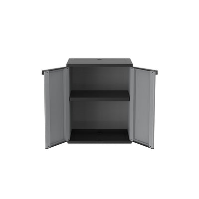 Photo of Terry Jline 68 2Door 1Shelf G/Blk