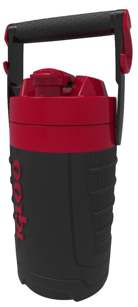 Igloo Proformance Jug Black/Red Heat 1/2Gal
