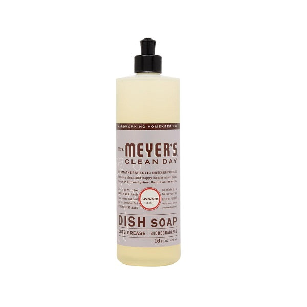 Mrs. Meyer's  Liquid Dish Soap Lavender 16oz