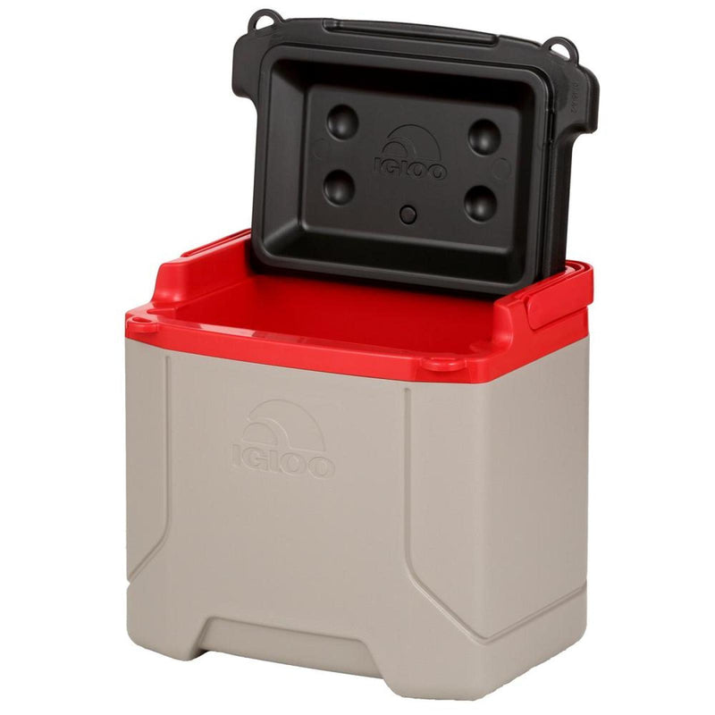 Igloo 32285 Profile Cooler 16Qt Sandstone Blazed Red