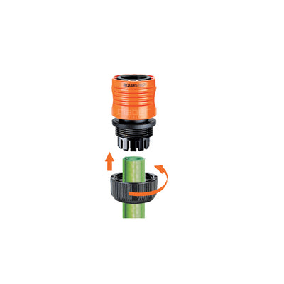 Claber Automatic Coupling w/Aquastop 3/4""