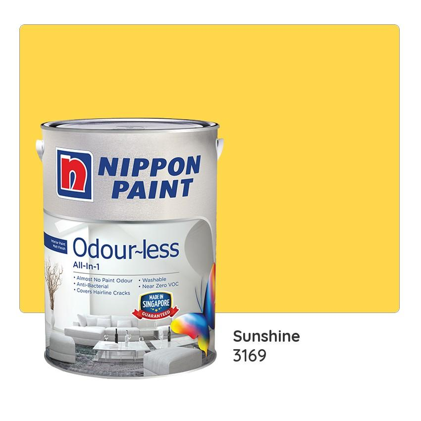 Nippon Paint Odour-less All-in-1 3169 (Sunshine)