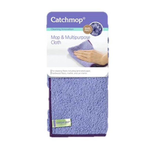 Catchmop Mop And Multipurpose Cloth 370mmX250mm - 2Pcs