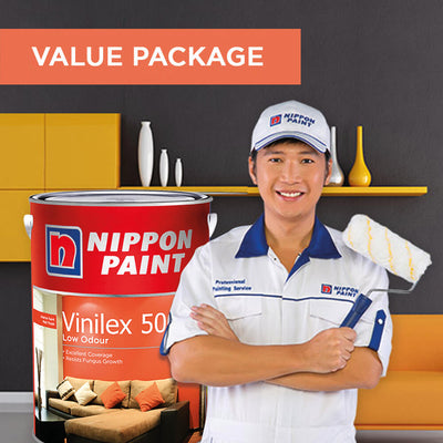 Reservation of Nippon Paint Packages for 5 Bedrooms Apartment
