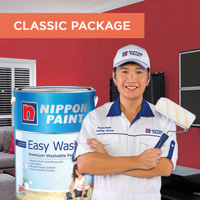 Reservation of Nippon Paint Packages for 5 Bedrooms Executive