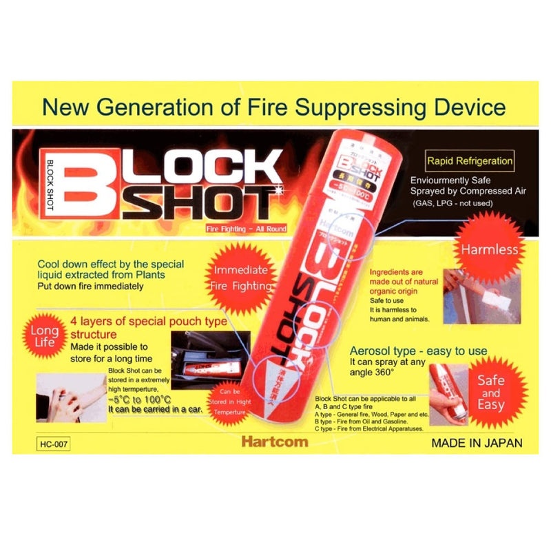 Block Shot Fire Extinguisher