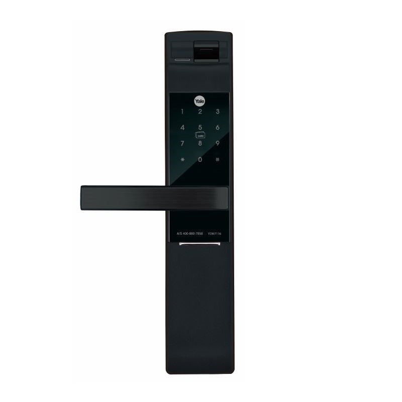 Reservation of Yale 5-in-1 YDM7116 Digital Door Lock Matt Black