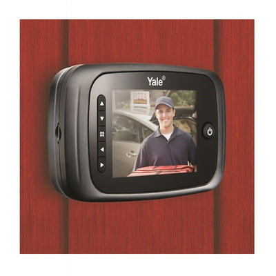 Yale DDV2 Silver Digital Door Viewer