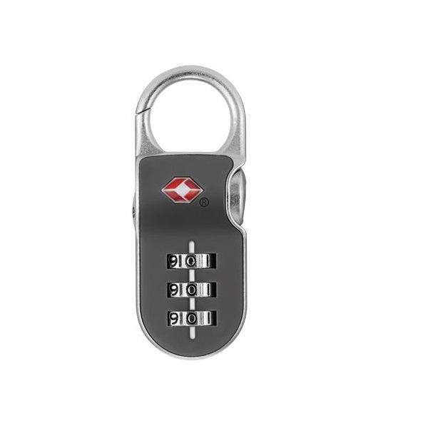 b71f66afcdc4 Yale YTP2/26/216 Resettable Travel Luggage Padlock Gry