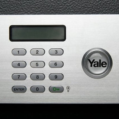 Yale YLM/200/EG1 Certified Digital Safe Box (Laptop) Grey