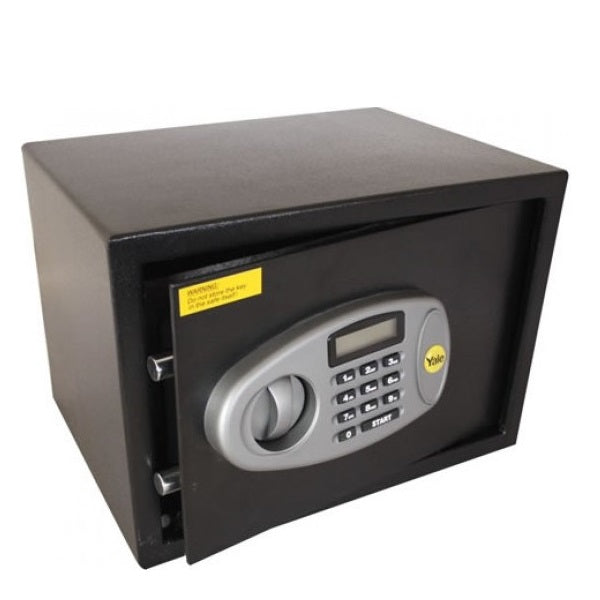 Yale YSS/250/DB2 Black Standard Medium Safe Box