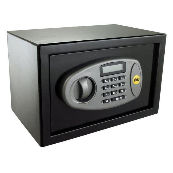 Yale YSS/200/DB2 Black Standard Home Safe Box