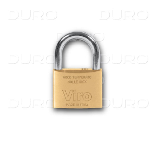 Viro Rectangular Padlock 60mm w/ Patent Key