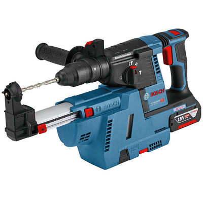 Photo of Bosch GBH 18V-26 + GDE 18V-16 (2X6.0Ah)
