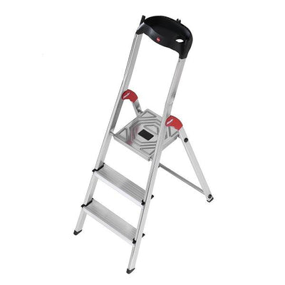 Photo of Hailo L60 Aluminium Safety Ladder 3 Steps