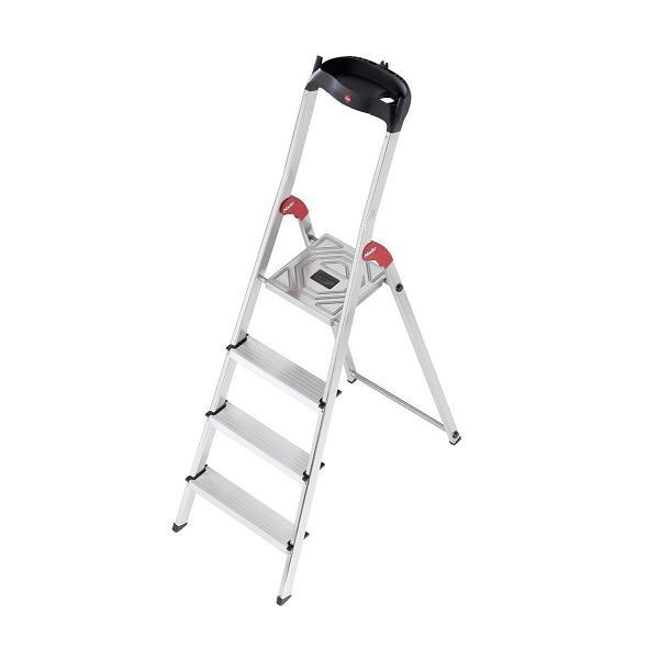 RENT - Hailo L60 Aluminium Safety Ladder 4 Steps