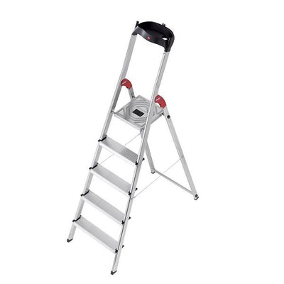 Photo of Hailo L60 Aluminium Safety Ladder 5 Steps