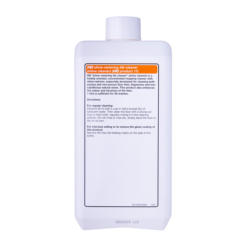 HG 115100106 Shine Restoring Tile Cleaner 1L