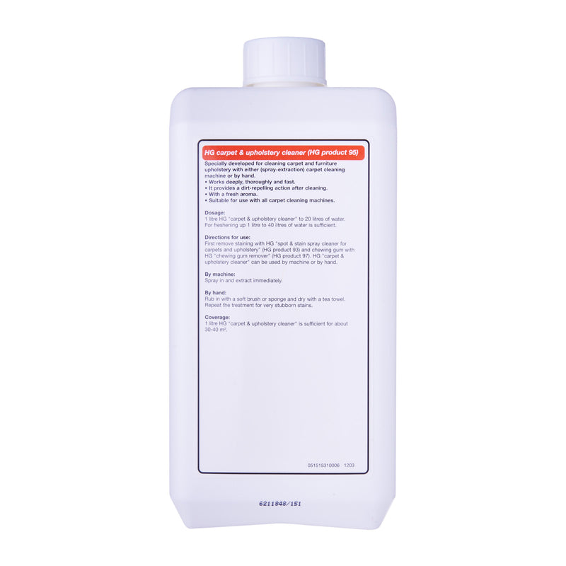 HG 151100106 Carpet & Upholstery Cleaner 1 Litre