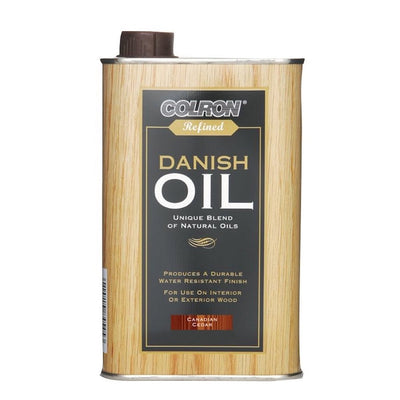 Photo of Colron Refinded Danish Oil Canadian Cedar 500ml