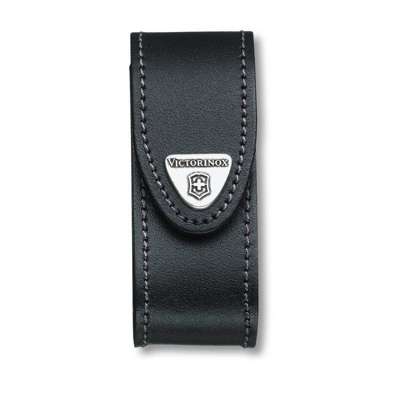 Victorinox Belt Pouch Black Leather