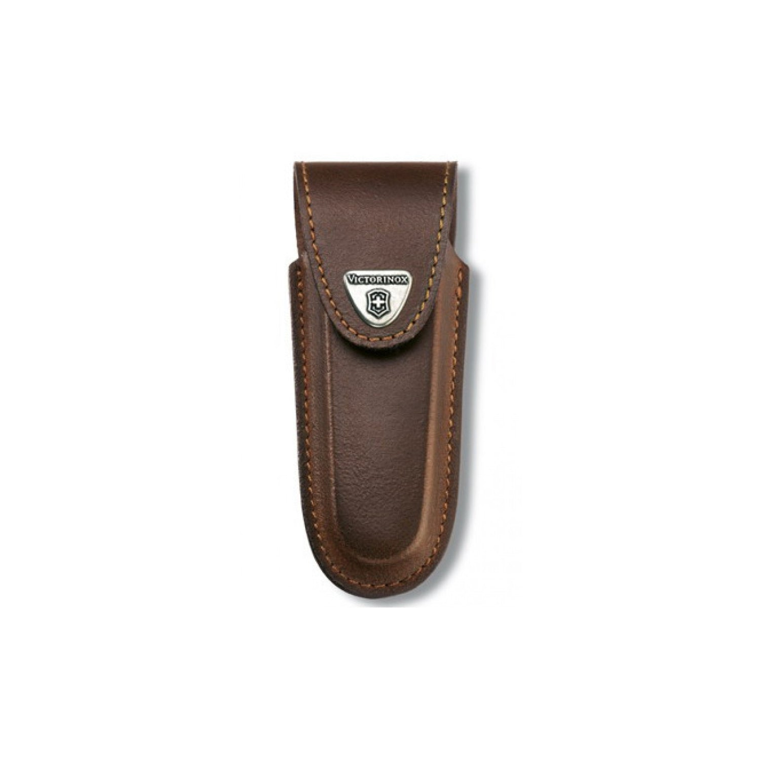 Victorinox Belt Pouch Leather With Velcro Closure