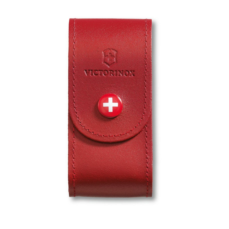 Victorinox Belt Pouch Red Leather