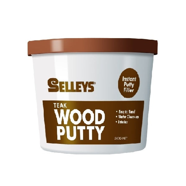 Selleys Wood Putty Teak 500gm