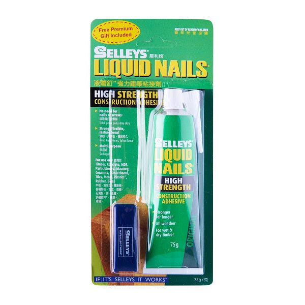 Selleys Liquid Nails 75Gm