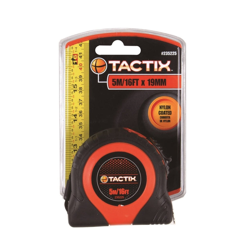 Tactix Retractable Measuring Tape (5M)