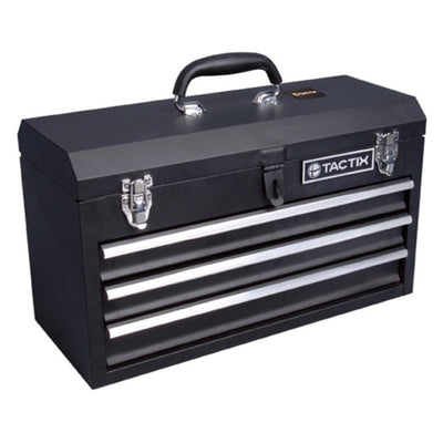 Photo of Tactix Onsite 3 Drawer Tool Cabinet