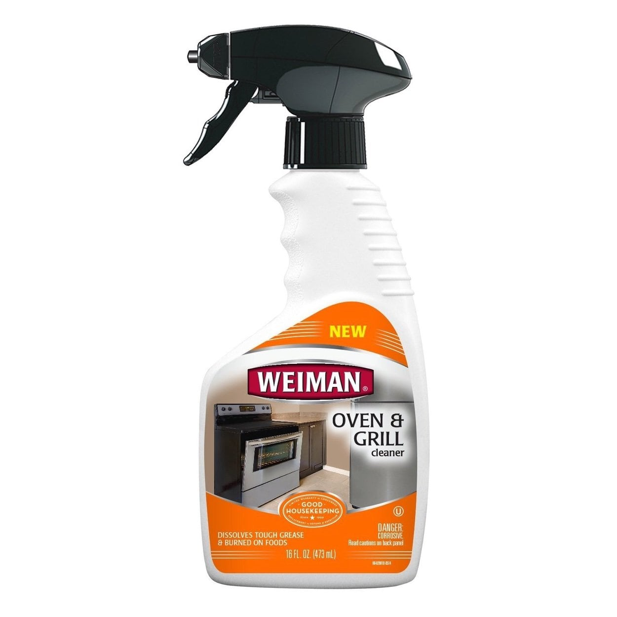Weiman 89 Oven & Grill Cleaner Trigger 16oz  473ml