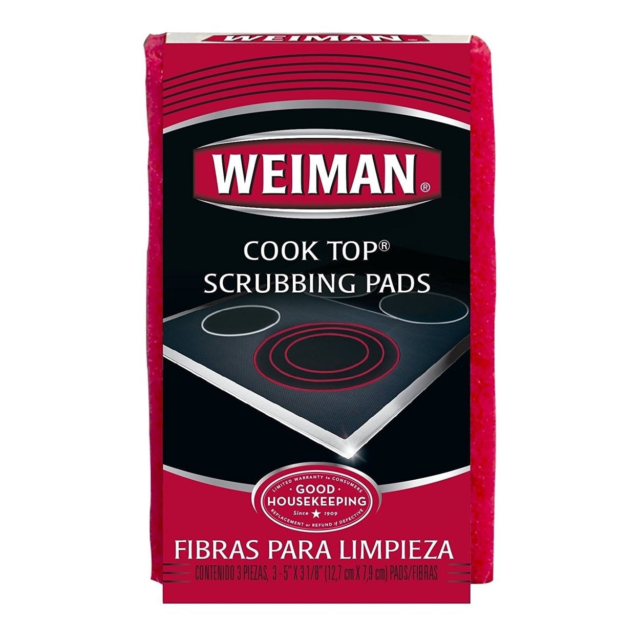 Photo of Weiman Cook Top Scrub Pads 3S