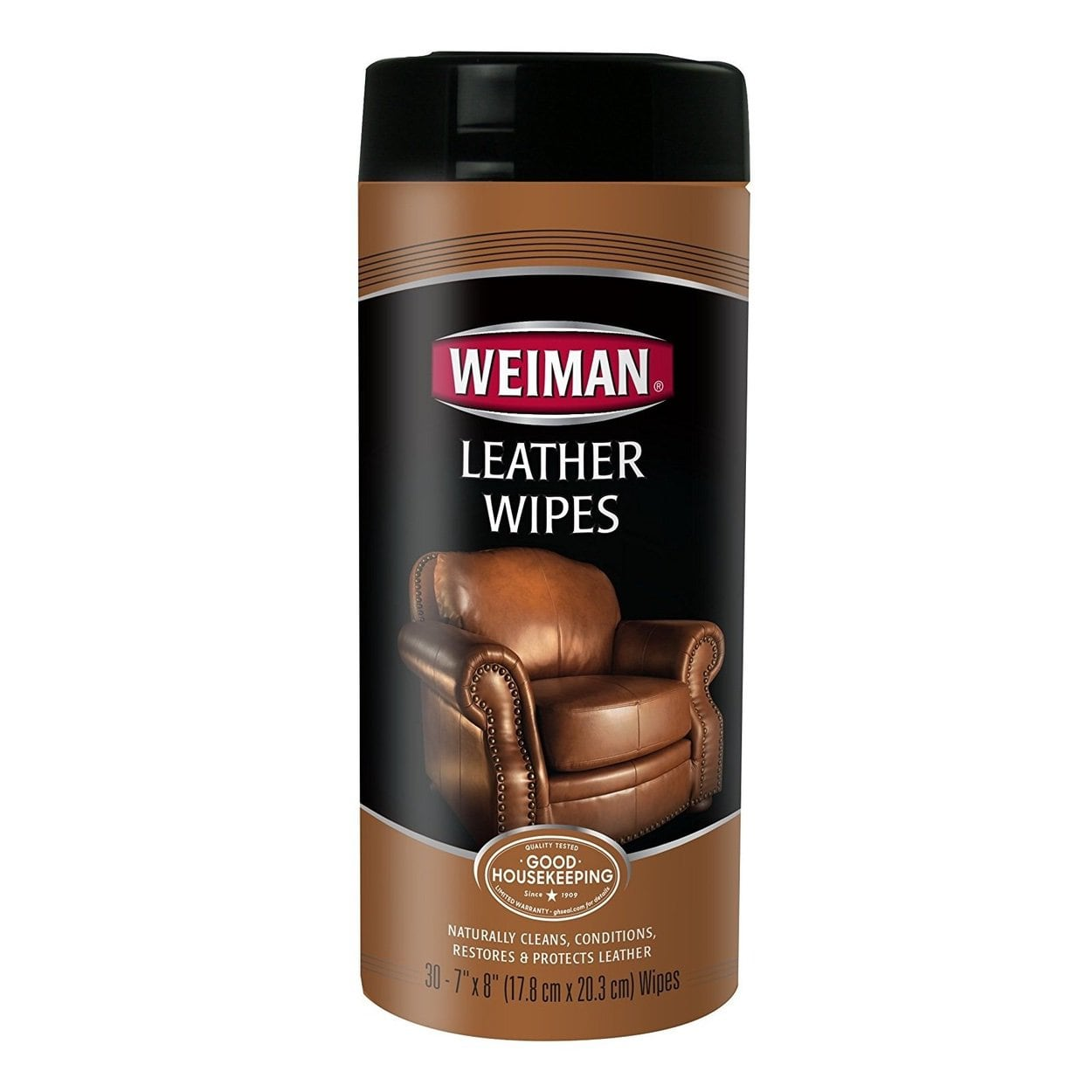 Weiman Leather Wipes 30s
