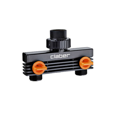 Photo of Claber 8589 Male Threaded 2Way Adapter 3/4""