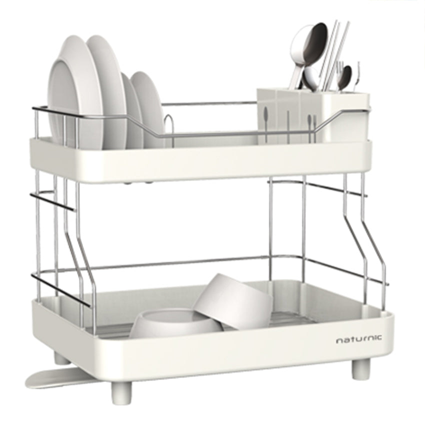 Photo of Naturinic White System Double Layer Dish Rack