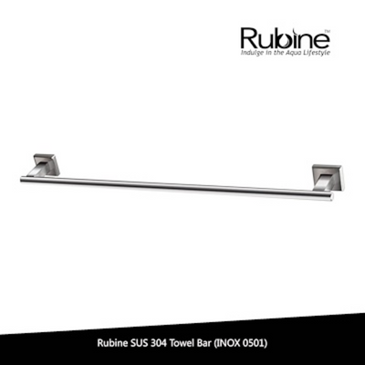Photo of Stainless Steel Single Towel Bar