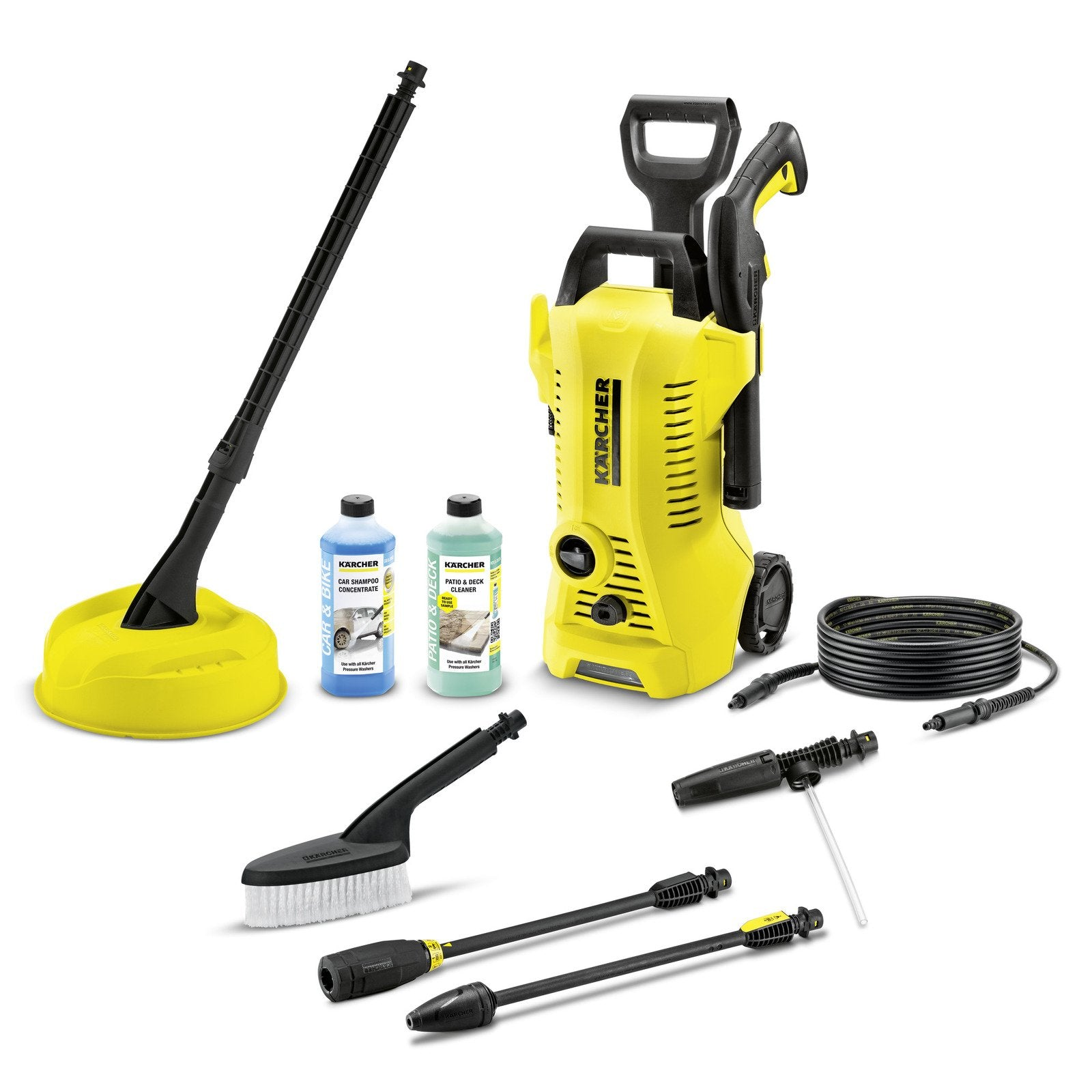RENT - Kärcher K2 Premium Car & Home High Pressure Cleaner - COMPLETE SET